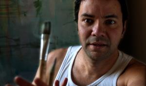 Jamie Zubairi and A Paintbrush